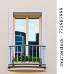 french style balcony windows... | Shutterstock . vector #772987999