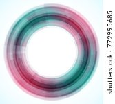geometric frame from circles ...   Shutterstock .eps vector #772995685