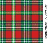 seamless plaid pattern.... | Shutterstock .eps vector #772995829