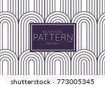 abstract geometric vector...   Shutterstock .eps vector #773005345