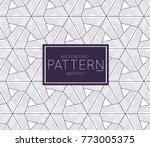 abstract geometric vector...   Shutterstock .eps vector #773005375