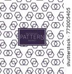 abstract geometric vector...   Shutterstock .eps vector #773005405