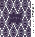 abstract geometric vector...   Shutterstock .eps vector #773005411