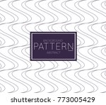 abstract geometric vector...   Shutterstock .eps vector #773005429