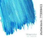 vector turquoise blue  indigo...   Shutterstock .eps vector #773008411