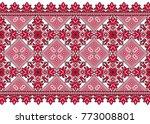 embroidered good like handmade... | Shutterstock .eps vector #773008801