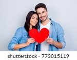 he vs she together forever.... | Shutterstock . vector #773015119