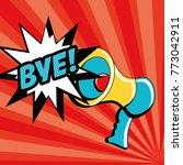 pop art design | Shutterstock .eps vector #773042911