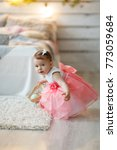A Charming Two Year Old Girl I...