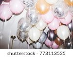 colorful balloons in a party | Shutterstock . vector #773113525