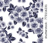 abstract elegance seamless... | Shutterstock .eps vector #773116231