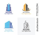 building logo vector   Shutterstock .eps vector #773125294