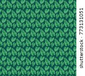 monstera leaves watercolor... | Shutterstock . vector #773131051