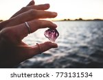 Precious Amethyst Crystal  Hel...