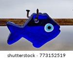 nazar eye shaped amulet... | Shutterstock . vector #773152519