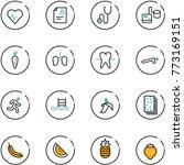 line vector icon set   heart...   Shutterstock .eps vector #773169151