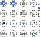 Line Vector Icon Set   Only...