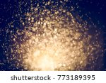 gold abstract background with...   Shutterstock . vector #773189395