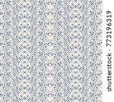 tie dye triangle geometric... | Shutterstock .eps vector #773196319