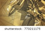 beautiful gold illustration... | Shutterstock . vector #773211175