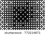 abstract futuristic halftone... | Shutterstock .eps vector #773214871