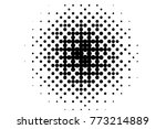 abstract futuristic halftone... | Shutterstock .eps vector #773214889
