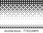 abstract futuristic halftone... | Shutterstock .eps vector #773214895