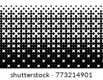 abstract futuristic halftone... | Shutterstock .eps vector #773214901