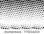 abstract futuristic halftone... | Shutterstock .eps vector #773216215