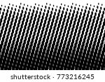 abstract futuristic halftone... | Shutterstock .eps vector #773216245