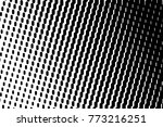 abstract futuristic halftone... | Shutterstock .eps vector #773216251
