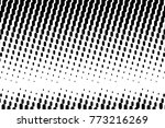 abstract futuristic halftone... | Shutterstock .eps vector #773216269