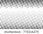 abstract futuristic halftone... | Shutterstock .eps vector #773216275