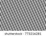 abstract futuristic halftone... | Shutterstock .eps vector #773216281