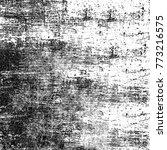 grunge black white. monochrome... | Shutterstock . vector #773216575