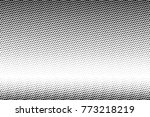 abstract futuristic halftone... | Shutterstock .eps vector #773218219