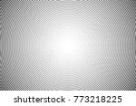 abstract futuristic halftone... | Shutterstock .eps vector #773218225
