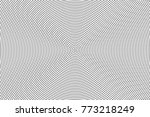 abstract futuristic halftone... | Shutterstock .eps vector #773218249