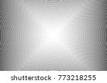 abstract futuristic halftone... | Shutterstock .eps vector #773218255