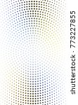 light blue  yellow pattern of... | Shutterstock . vector #773227855