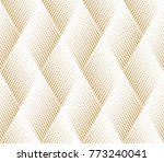 abstract geometric pattern with ... | Shutterstock . vector #773240041