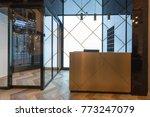 hotel reception desk  reception ... | Shutterstock . vector #773247079