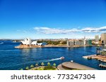 in  australia  sydney opera...   Shutterstock . vector #773247304