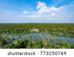 kerla india landscape from... | Shutterstock . vector #773250769