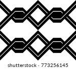 design seamless monochrome... | Shutterstock .eps vector #773256145
