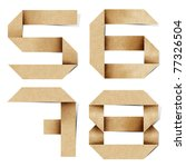 Origami Alphabet Letters Numbe...