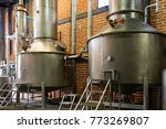 agave distillery  the making of ... | Shutterstock . vector #773269807