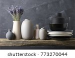 home decor   neutral colored... | Shutterstock . vector #773270044