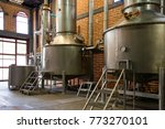 agave distillery  the making of ... | Shutterstock . vector #773270101