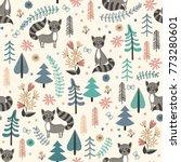 seamless pattern for children... | Shutterstock .eps vector #773280601